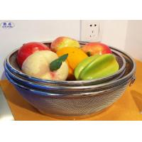 Customized Wire Mesh Fruit Basket , Metal Wire Basket Fruit Bowl For Home / Kitchen Manufactures