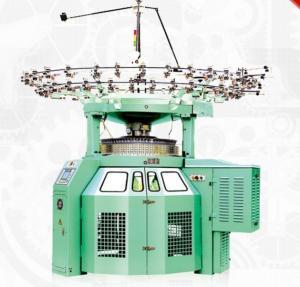 RPM30 Large Diameter Circular Knitting Machine , High Speed Terry Knitting Machine Manufactures