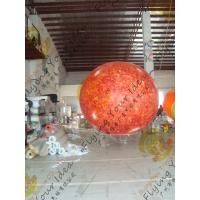 Quality 2.5m helium PVC Fireproof with B1 Certificate and Waterproof Sun Earth Balloons for sale