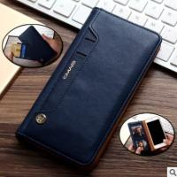 iPhone7 plus phone leather case buckle-free rotary adsorption card wallet protective sleeve apple 678 Manufactures