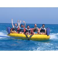Commercial Grade Inflatable Crazy UFO , Towable Inflatables Water Ski Tubes Manufactures