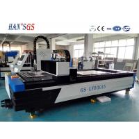 Good Fiber laser cutting machine for Metal cutter with Ipg / Spi laser source Manufactures