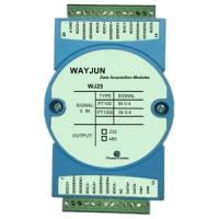 Buy cheap WJ25 series 5 channels PT100/PT1000 RTD Temperature Signal to RS485/232 temperature signal acquisition from wholesalers