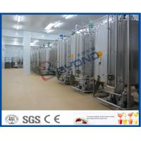 Quality 5000 LPH Beverage Production Line Fruit Juice Powder Mixing And Sterilizing Plant for sale