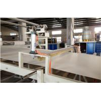 UPVC / PVC Single Screw Plastic Extruder Corrugated / Waved Roofing Sheets Machine Manufactures