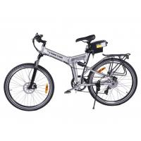 X-CURSION X-Treme 300W Folding Electric Bicycle - Lithium Power Assisted Mountain Bike Manufactures