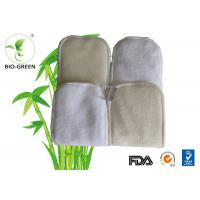 5 Layer Long Bamboo Cloth Diaper Inserts Microfiber / Bamboo Charcoal Founded Manufactures