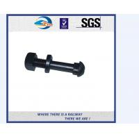 Quality High Tensile Square Thread Railway Bolt And Nuts Grade 8.8 5.8 for sale