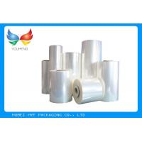 Beverage Bottle PETG Shrink Sleeve Film 78% Shrinkage Recyclable , 30-80mic Thickness Manufactures