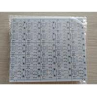 Buy cheap Double sided PCB with 1.6mm 1oz copper thickness HASL surface treatment white soldmask from wholesalers