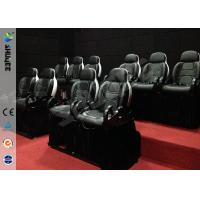 Mini 7D Movie Theater, 6 / 9 / 12 / 18 / 24 Persons XD Motion Cinema With Flat Screen Manufactures