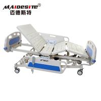 ICU ABS Headboard Electric Hospital Bed Adjustable Multi Functions Manufactures