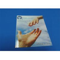 4 Color / 2 Color Printing Saddle Stitched Book Glossy Lamination For Entertainment Manufactures