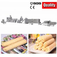 China Chocolate Core Filling Puff Snack Food Production Line For Ball Low Power Consumption on sale
