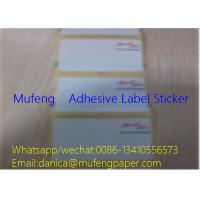 SGS Adhesive Sticker Roll 2 Sides Print Direct Thermal Label Edge Distance 1.5mm Manufactures