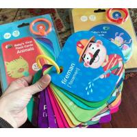 China Glossy Children'S Learning Flash Cards / Children Educational Paper Flash Cards on sale