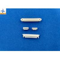 Single Row Circuit Board Connection, White PCB Wire Connector GH connector  PA66 Materials Manufactures