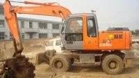 ZX160 Wheel Excavator , Japanese used excavator for sale Manufactures