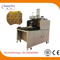 China High Efficiency PCB Punching Machine For LED Panel Boards With Large Workarea 580*580mm on sale