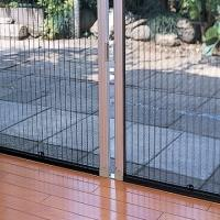 Buy cheap Europe Style Retractable Screen Door , Aluminum Frame Pleated Retractable Screen from wholesalers