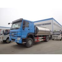 Howo 266hp 10 Tons Tanker Truck Trailer Modified Bitumen Distributor Truck Manufactures