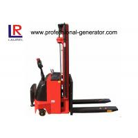 Hydraulic Fork Lift Type 4.5m Height Electric Pallet Stacker Stepless Speed Change Battery Manufactures