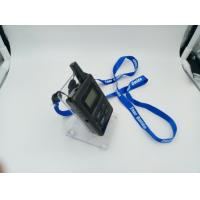 Buy cheap E8 Ear Hanging Wireless Audio Guide System , Black Simultaneous Translation Device from wholesalers