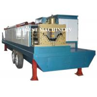 Trailer Mounted ABM K Span Roll Forming Machine Curving Roof 8m/min - 12m/min Manufactures