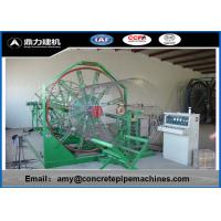Stainless Steel Cage Making Machine For Reinforced Concrete Drainage Pipes Manufactures