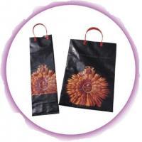Small Plastic Bags With Handles , Promotional Loop Handle Bags Manufactures
