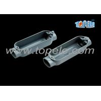 C Threaded Aluminum Rigid Conduit Body With Outlet Box Corrosion Resistant Manufactures
