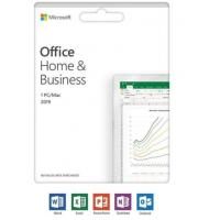 China Windows / Mac Microsoft Office 2019 Home And Business Retail Edition on sale