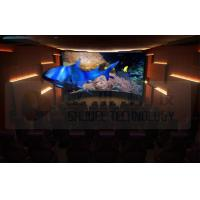 Flat Screen 5D Movie Theater with 7.1 Audio System Install In Exhibition Hall Manufactures