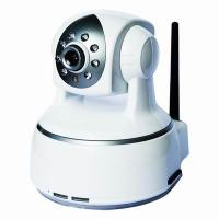 802.11b/g Protocol Wifi M-JPEG Tilt and Pan CCTV Night Vision IP PTZ Cameras Manufactures