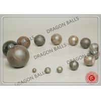 Customized Size Ball Mill Balls , Forged / Cast Steel Balls For Ball Mill Manufactures