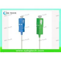 China SC/APC Optical Fiber Pigtail 0.9mm For Fiber Optic Patch Panel on sale