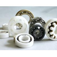 High Precision 6000 Ceramic Bearing / Deep Groove Bearing Si3N4 Material Manufactures