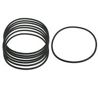 High Performance Silicone Gasket Ring Hot Pressing Molding , Temperature -50℃-200℃ Manufactures