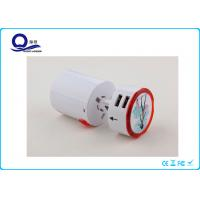 Detachable Universal Power Converter Adapter With Led Logo Safety Fuse Protection Manufactures