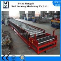 China Filming Laminating Floor Deck Roll Forming Machine Cr12 Cutting Blade on sale