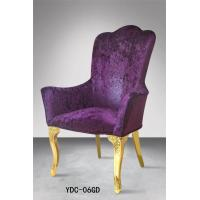 Indoor banquet furniture, stainless steel armchairs (YDC-06GD) Manufactures