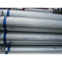 Customized ERW ASTM Hot-dip Galvanized Steel Pipe for Structure , Water Pipe Manufactures