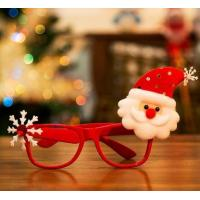 Christmas decorations adult children toy Santa snowman antlers glasses frameless cartoon glasses frame Manufactures