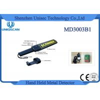 China Security Equipment Hand Held Metal Detector High Sensitivity for Stable Pin on sale