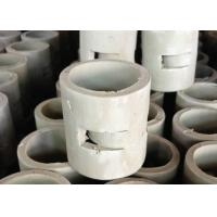 China Light Grey Ceramic Random Packing High Mechanical Strength Resist High Temperature on sale