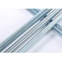 Grade 4.8 / 6.8 / 8.8 Threaded Rods For Construction Building DIN Standard Manufactures