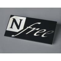 Buy cheap Metal Electroform label,customized LOGO tags with 3M Self-adhesive from wholesalers