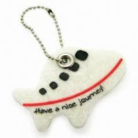 Airplane-shape Pendant with Rivet, Made of 3mm Felt Material, Measures 5 x 3.5cm Manufactures