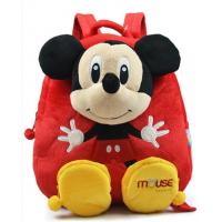 14inch Red Mickey Mouse Kid Backpack School Bags , For Children and Promotion Gifts Manufactures