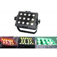 IP65 Waterproof 12 * 3W RGB Outdoor LED Wall Washer DMX512 Disco Dj Stage Lighting Manufactures